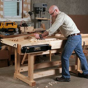 how to make a work bench build a monster workbench finewoodworking