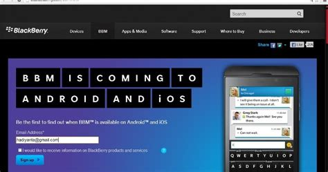 Hp Nokia Android Bbm update informasi hp ponsel gadget laptop terbaru cara daftar bbm untuk android