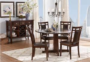 Dining Room Sets Round by Riverdale Cherry 5 Pc Round Dining Room Dining Room Sets