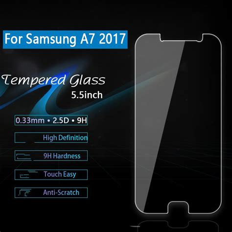 Tempered Glass Norton Samsung A7 tempered glass for samsung a3 2017 a5 2017 a7 2017 2 5d