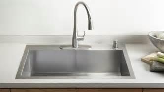 kohler stainless steel kitchen sinks kitchen sinks