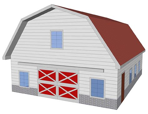 Gambrel Roofs by Pin Building Gambrel Roof Trusses By Celia On Pinterest