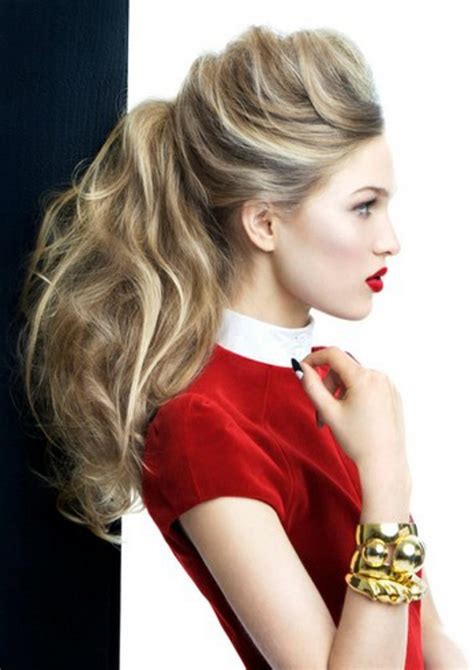 thin and slight curly pony hairstyles hottest ponytail hairstyles haircuts hairstyles 2017