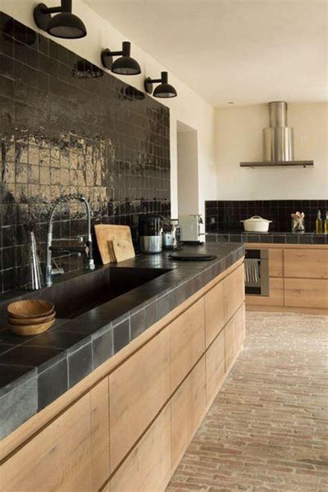 Hermoso  Barras De Cocina Rusticas #8: 6-cocinas-modernas-negras_0.jpg