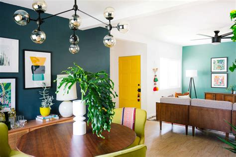how to use color in an open floor plan brand new