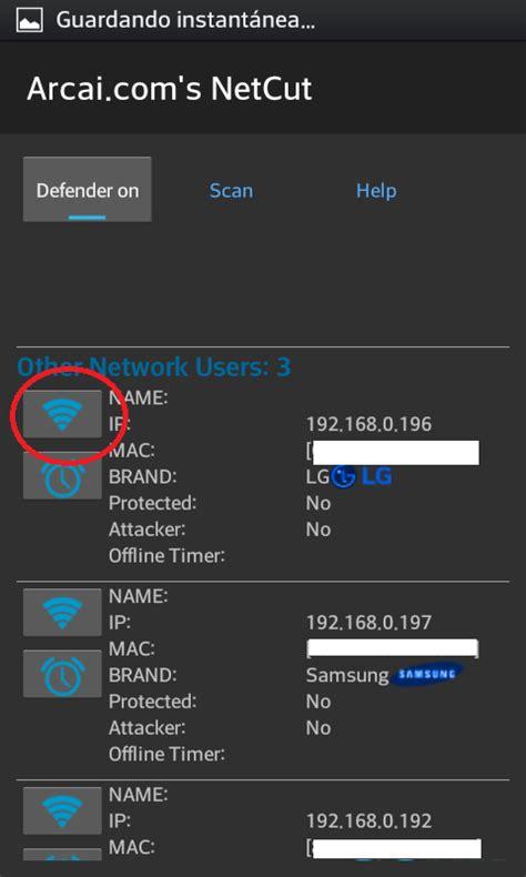 tutorial netcut android como dejar sin conexi 211 n a internet a los usuarios de