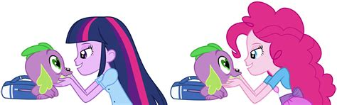 equestria girls twilight and spike spike gets all the equestria girls part 1 by titanium