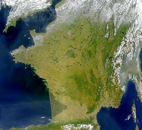 imagenes satelitales de francia mapa satelital de francia