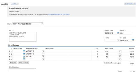 quickbooks invoice templates quickbooks invoice free to do list