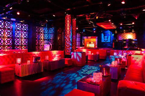 themed club events mokai has been reved with black and red decor and can
