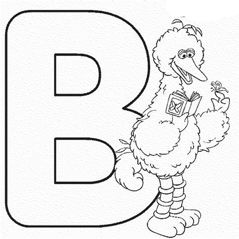 Coloring Pages Abc Printable Kids Colouring Pages Letter B Coloring Pages