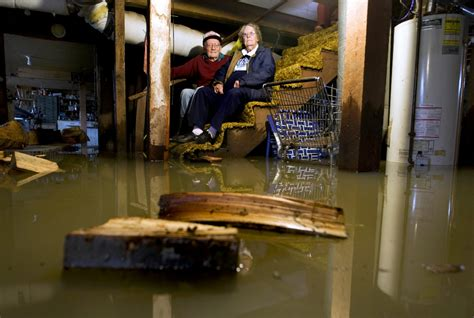 flooded basement cleanup general contractor home