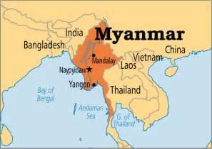 Burma World Map by Sep 10 Myanmar Operation World
