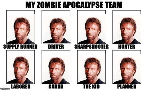 My Zombie Apocalypse Team Meme Creator - custom my zombie apocalypse team imgflip