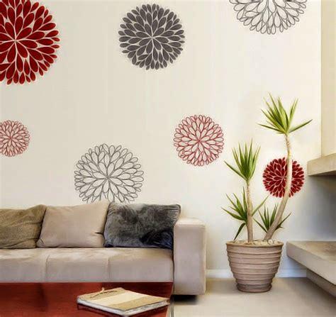 Hiasan Dinding Rumah Bunga Bpl1 desain hiasan dinding bunga desain rumah minimalis