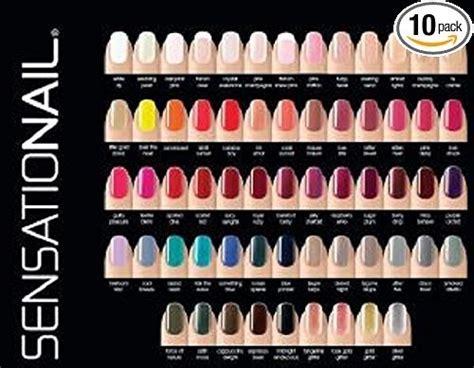 sensationail colors sensationail color gel set de colecci 243 n de 10