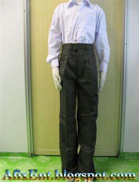 Baju Sekolah Menengah Lelaki afix enterprise seragam sekolah menengah dan rendah lelaki