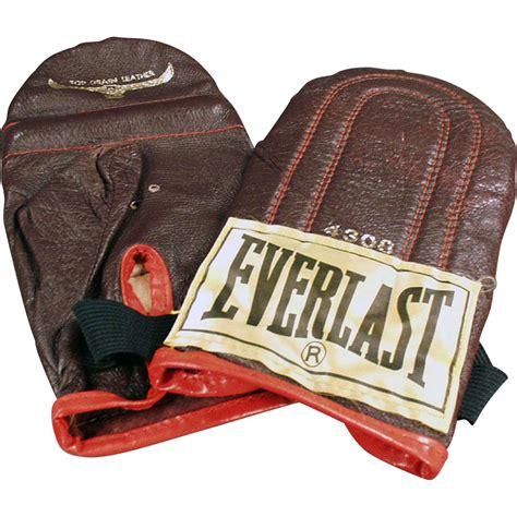 vintage everlast 4308 speed bag gloves from