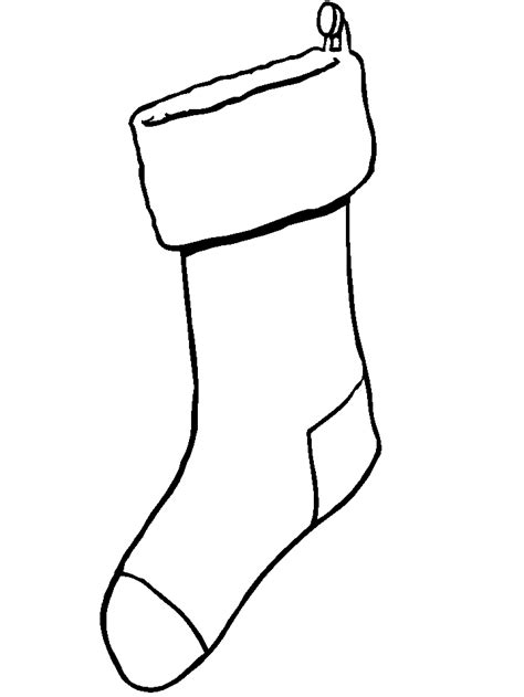 coloring page for christmas stocking christmas stockings coloring pages
