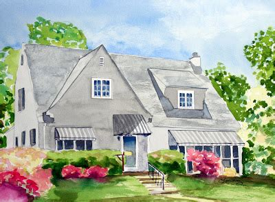 the red house painters flashback friday bands before you watercolors by laura trevey watercolor painting of your home