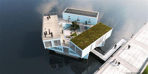 dhg design home group zon zee containerwoning wonen in drijvende