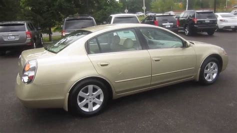 nissan gold 2002 nissan altima gold stock k1309011 walk around