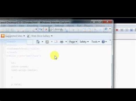 html tutorial urdu youtube html tutorial 33 text formatting in css urdu youtube