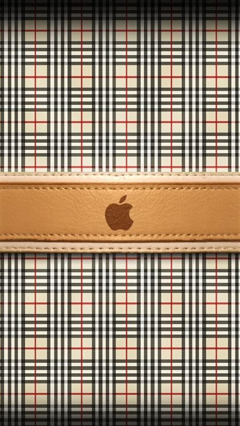 burberry pattern iphone wallpaper burberry apple logo the iphone wallpapers