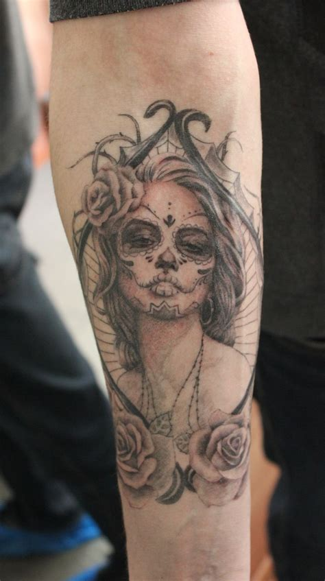 muerte tattoo design 25 best my works images on my works gray