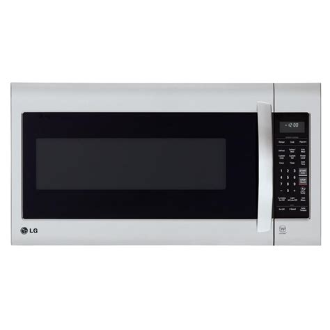 Microwave Oven Lg lg electronics 2 0 cu ft the range microwave in