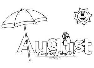 august coloring pages august coloring pages for coloring page