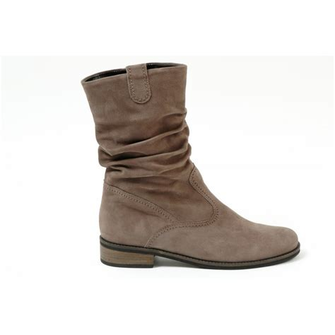 gabor boots trafalgar mid length boots in taupe mozimo