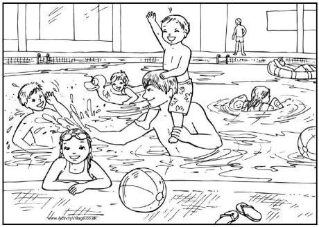 summer coloring pages for adults more swimming colouring