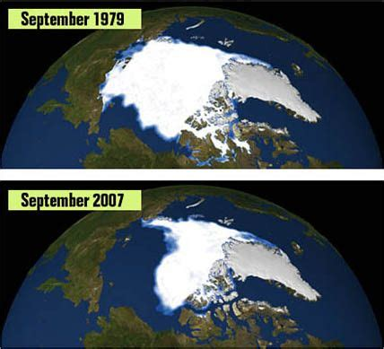 Global Warming Speeding Up Fashion Seasons by Arctic Sea Loss Confirmed As Cause Of Faster