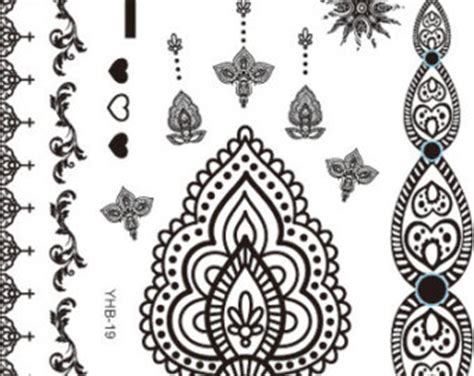 image gallery henna tattoo wristbands