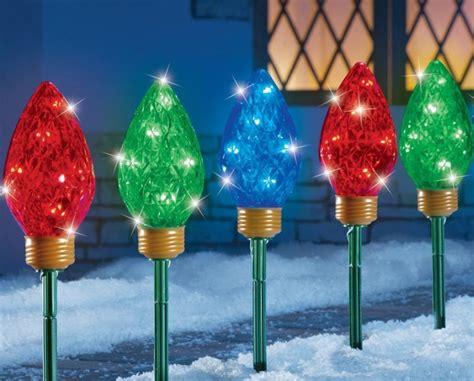 home christmas light stakes christmas light garden stakes christmas decorating