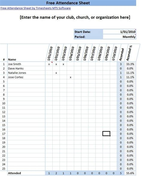 printable time keeping sheets printable attendance sheet format in excel time clock