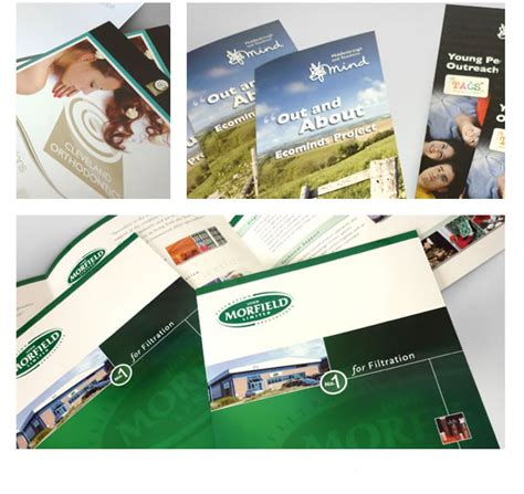 leaflet design middlesbrough brochures leaflets and corporate marketing literature