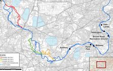river thames catchment map river thames scheme scoping report submitted flood briefing
