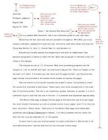 Format For Narrative Essay by Mla Format For Narrative Essays