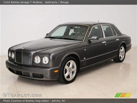 2009 bentley arnage anthracite 2009 bentley arnage t mulliner beluga