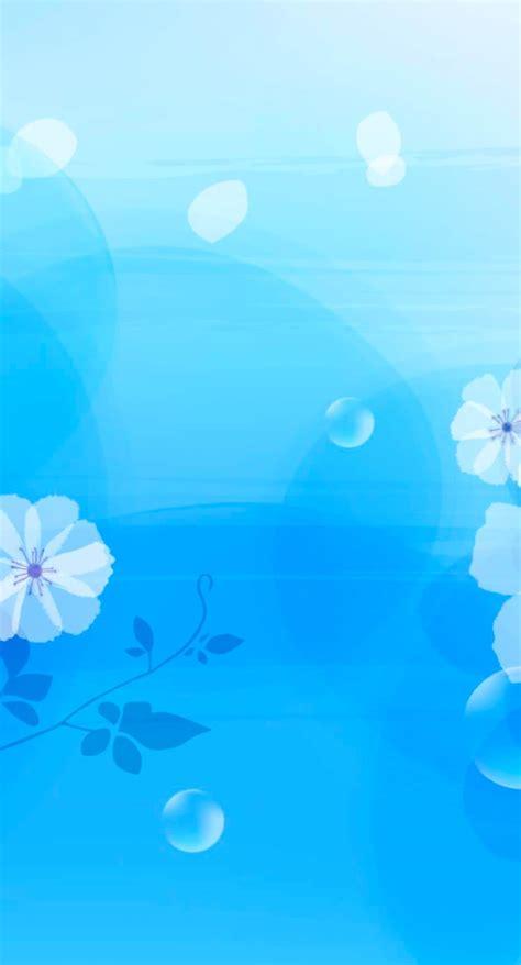 Pola Motif Natal pola bunga biru wallpaper sc iphone7plus