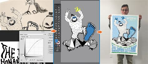 tutorial illustrator poster print poster tutorial bringing doodles and sketches into