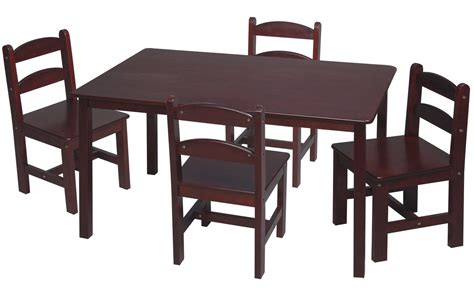 Chair Sets by 5 Pc Table And Chair Set Childrens Furniture