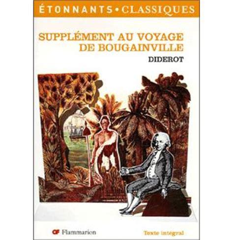 supplement au voyage de bougainville suppl 233 ment au voyage de bougainville poche denis