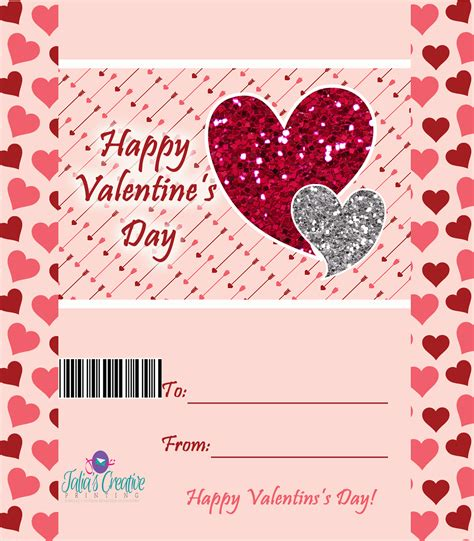 valentine s day candy bar wrapper free printables