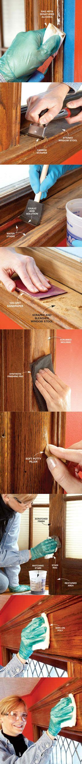 restaining wood trim 25 best ideas about painting wood trim on pinterest