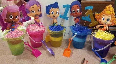 bubble guppies centerpieces bubble guppies party
