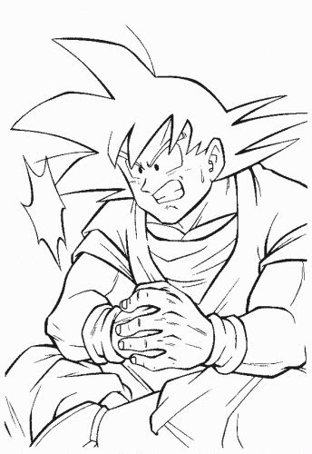 goku coloring pages to print free coloring pages of goku