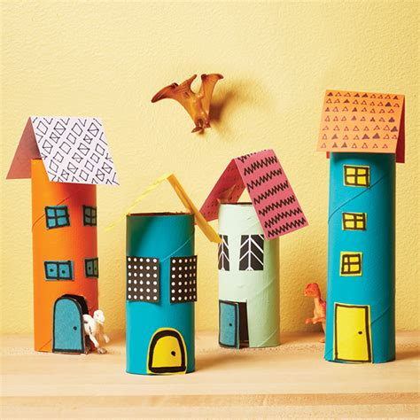 How To Make A City With Paper - how to make a mini city out of paper rolls today s parent